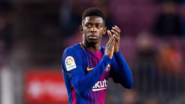 ديمبلي يرفض الانتقال لمانشستر يونايتد ويتمسك ببرشلونة
