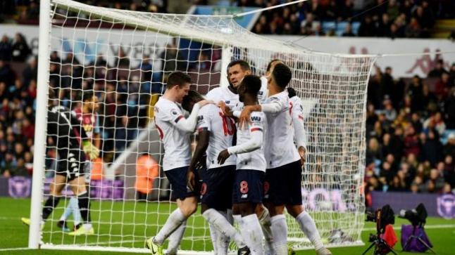 ليفربول يخطف الفوز أمام مضيفة أستون فيلا بثنائية نظيفة
